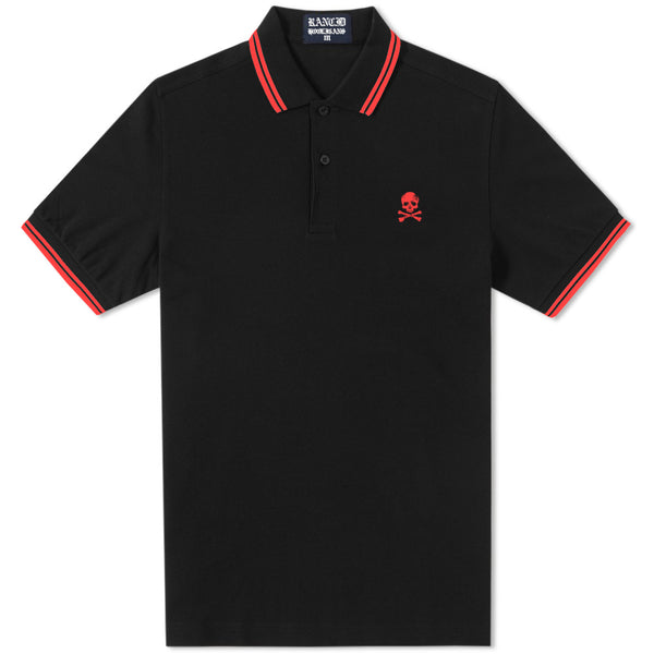 Rancid – Rancid D Skull Polo (Black)