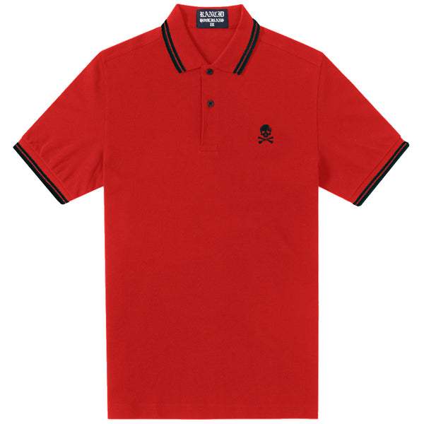 Rancid – Rancid D Skull Polo (Red)