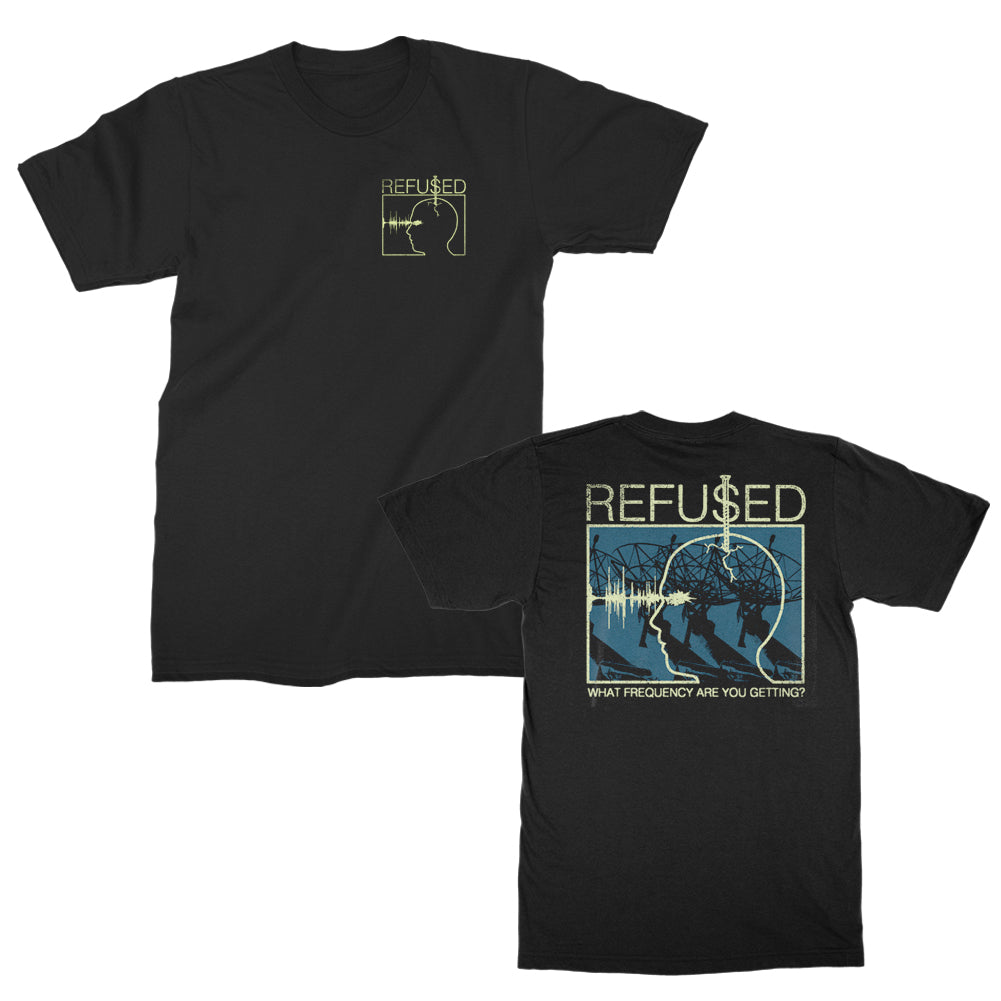 Refused - Frequency T-shirt (Black)