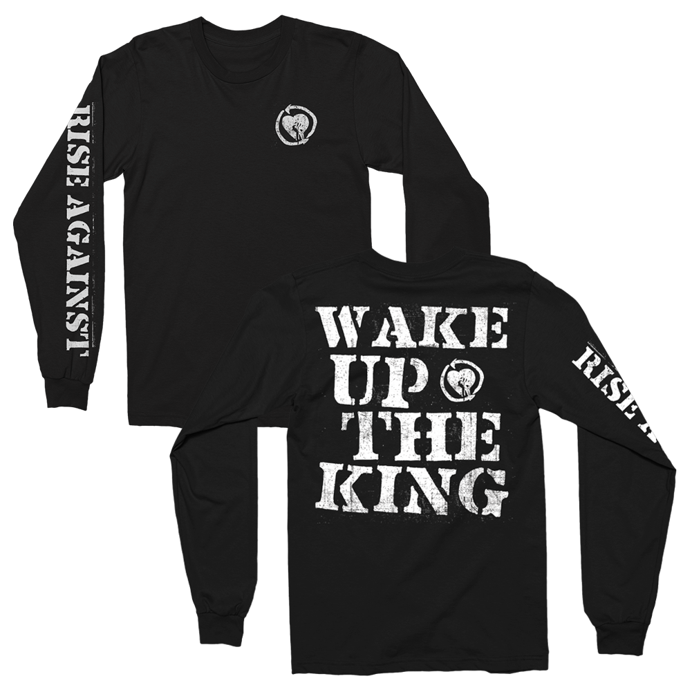 Rise Against - Wake Up The King Longsleeve (Black)