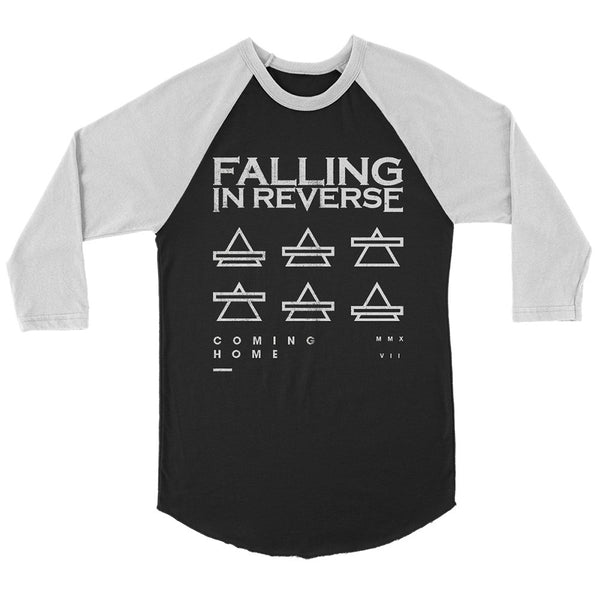 Falling In Reverse - Triangles Raglan