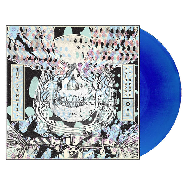 The Bennies - Rainbows In Space LP (Transparent Dark Blue)