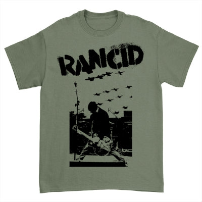 Rancid Planes T-Shirt (Military Green)