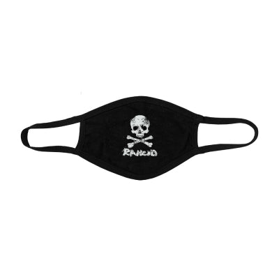 Rancid D-Skull Face Mask (Black)