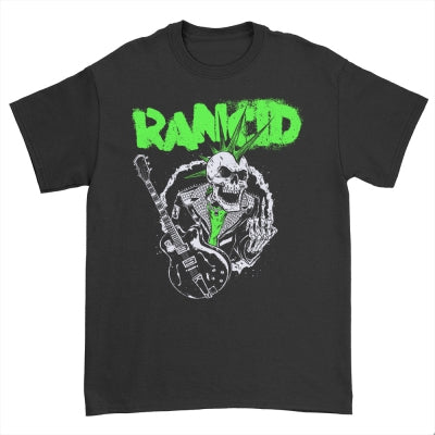 Rancid SkeleTim Guitar T-Shirt (Black)