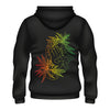 The Bennies - Rasta Nug Pullover Hoodie (Black) Back