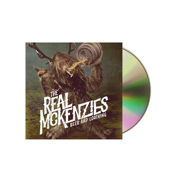 The Real Mckenzies - Beer and Loathing CD