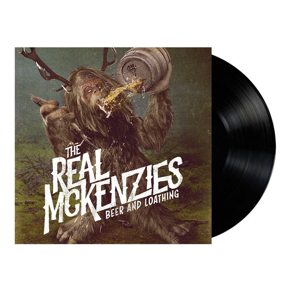 The Real Mckenzies - Beer and Loathing LP (Colour)The Real Mckenzies - Beer and Loathing LP (Black)