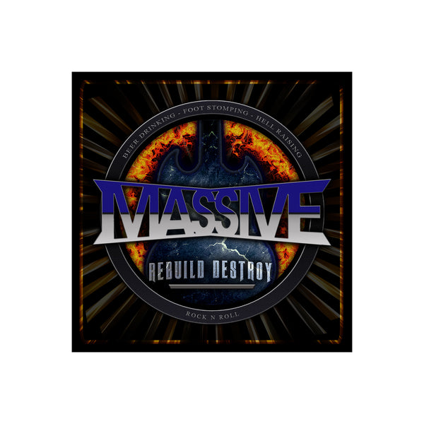 Massive - Rebuild Destroy CD