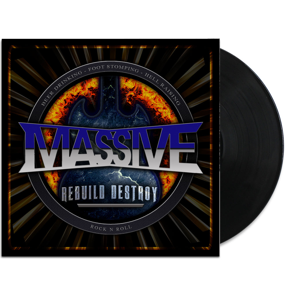 Massive - Rebuild Destroy LP (Black)