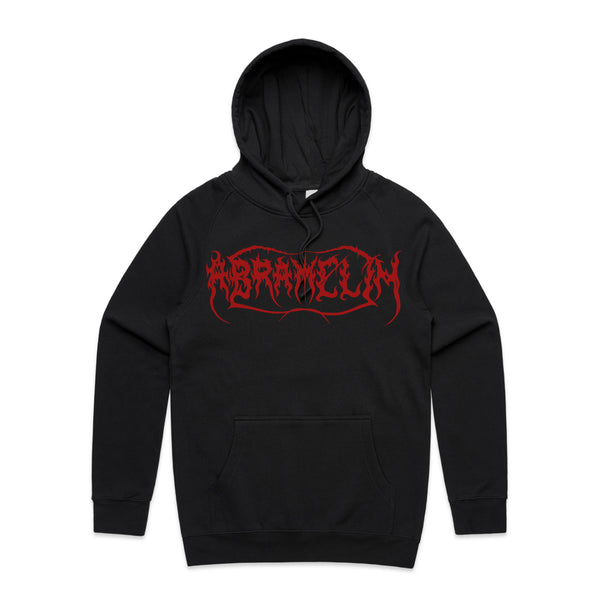 Abramelin - Logo Pullover Hoodie (Black/Red)