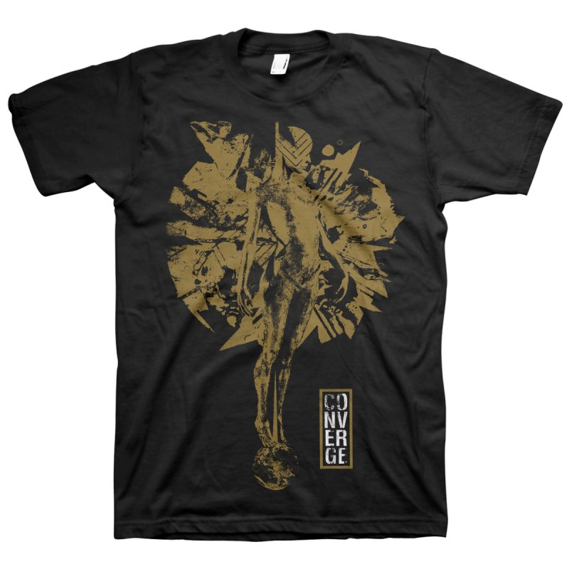 Converge - The Redeemer Metallic Gold Tee