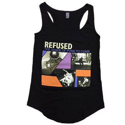 Refused Shape of Punk To Come Womens Tank