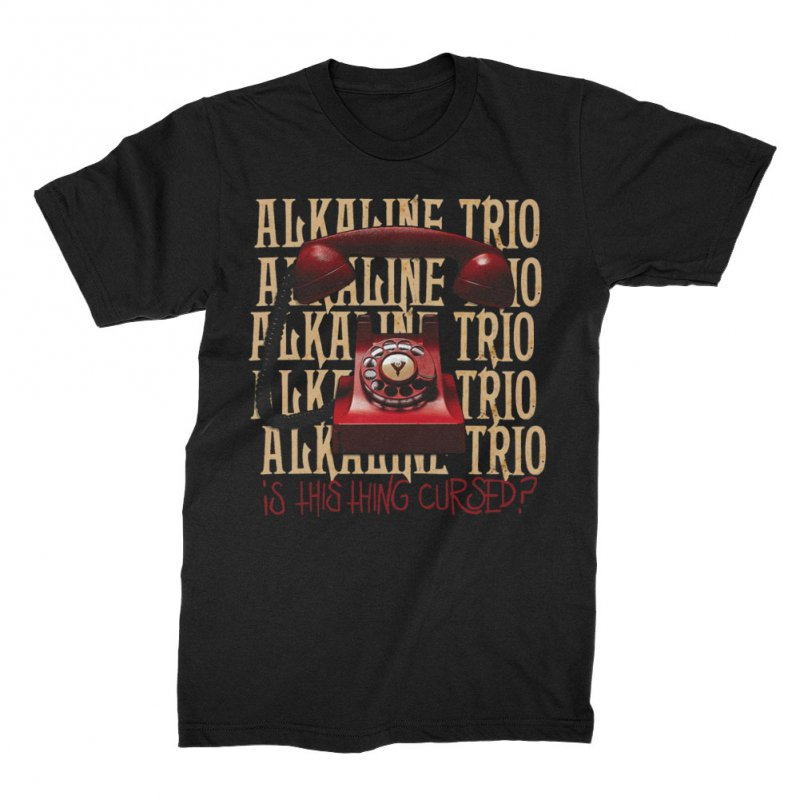 Alkaline Trio - Is This Thing Cursed? Repeater Tee (Black)