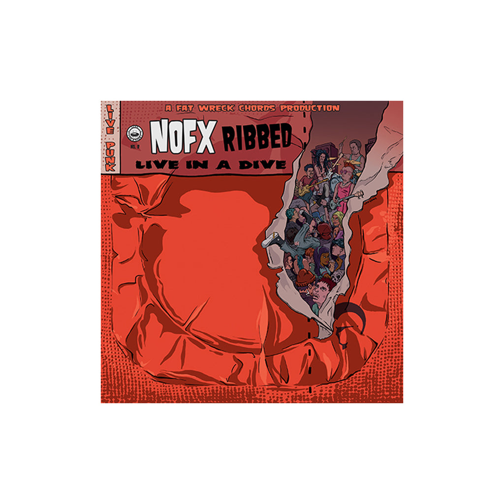NOFX - Ribbed - Live In A Dive CD