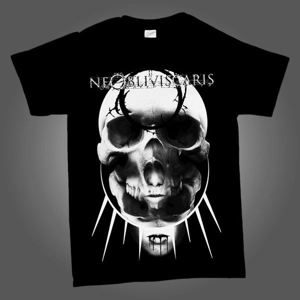 Rising Skull T-shirt (Black)