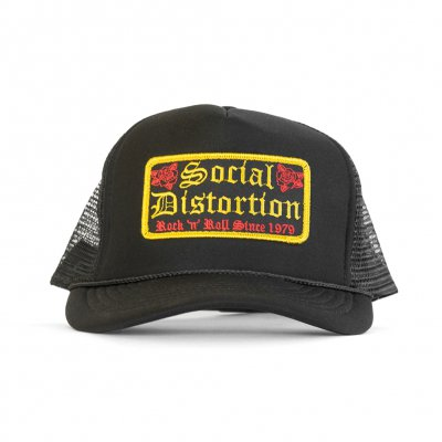 Social Distortion - Rock N Roll Patch Trucker Hat