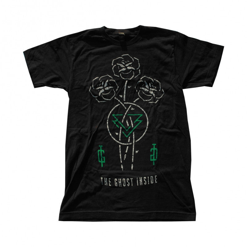 The Ghost Inside Roses Lock Ups T-shirt Black