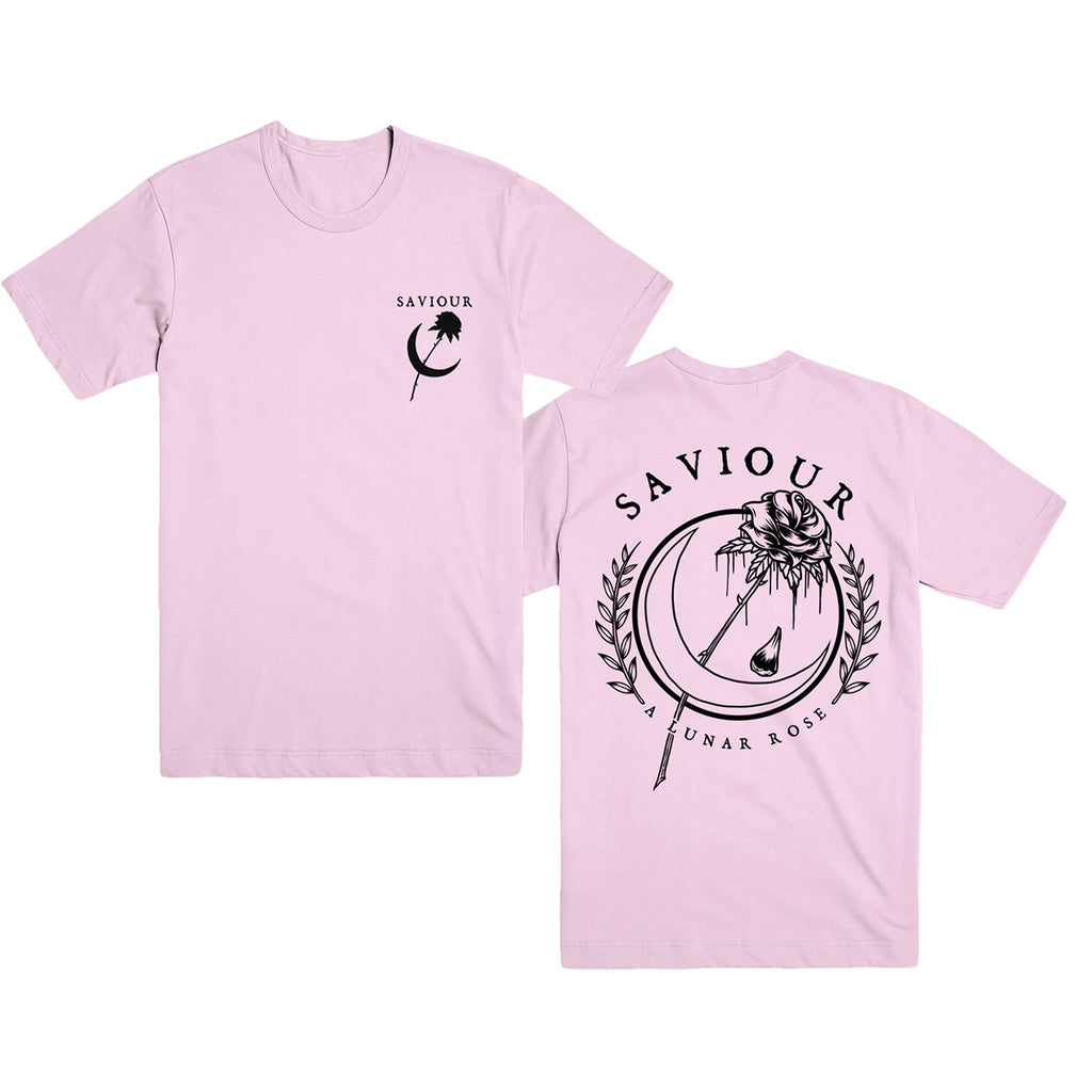Saviour - A Lunar Rose T-Shirt (Pink)