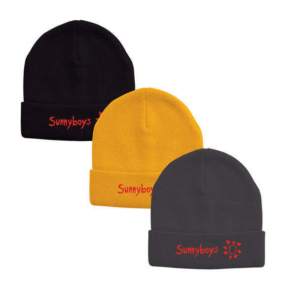 Sunnyboys - Embroidered Logo Beanies
