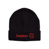Sunnyboys - Embroidered Logo Beanie (Black)
