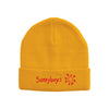 Sunnyboys - Embroidered Logo Beanie (Yellow)