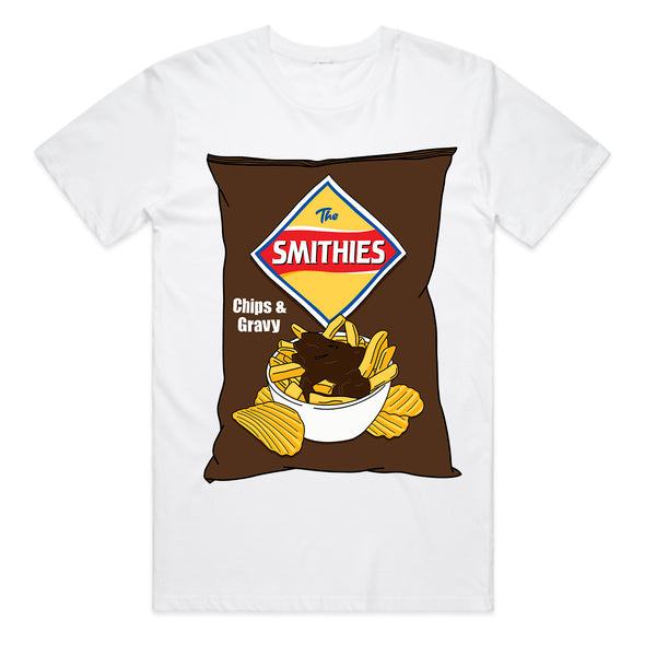 The Smith Street Band - Smiths Chips & Gravy Tee (White)