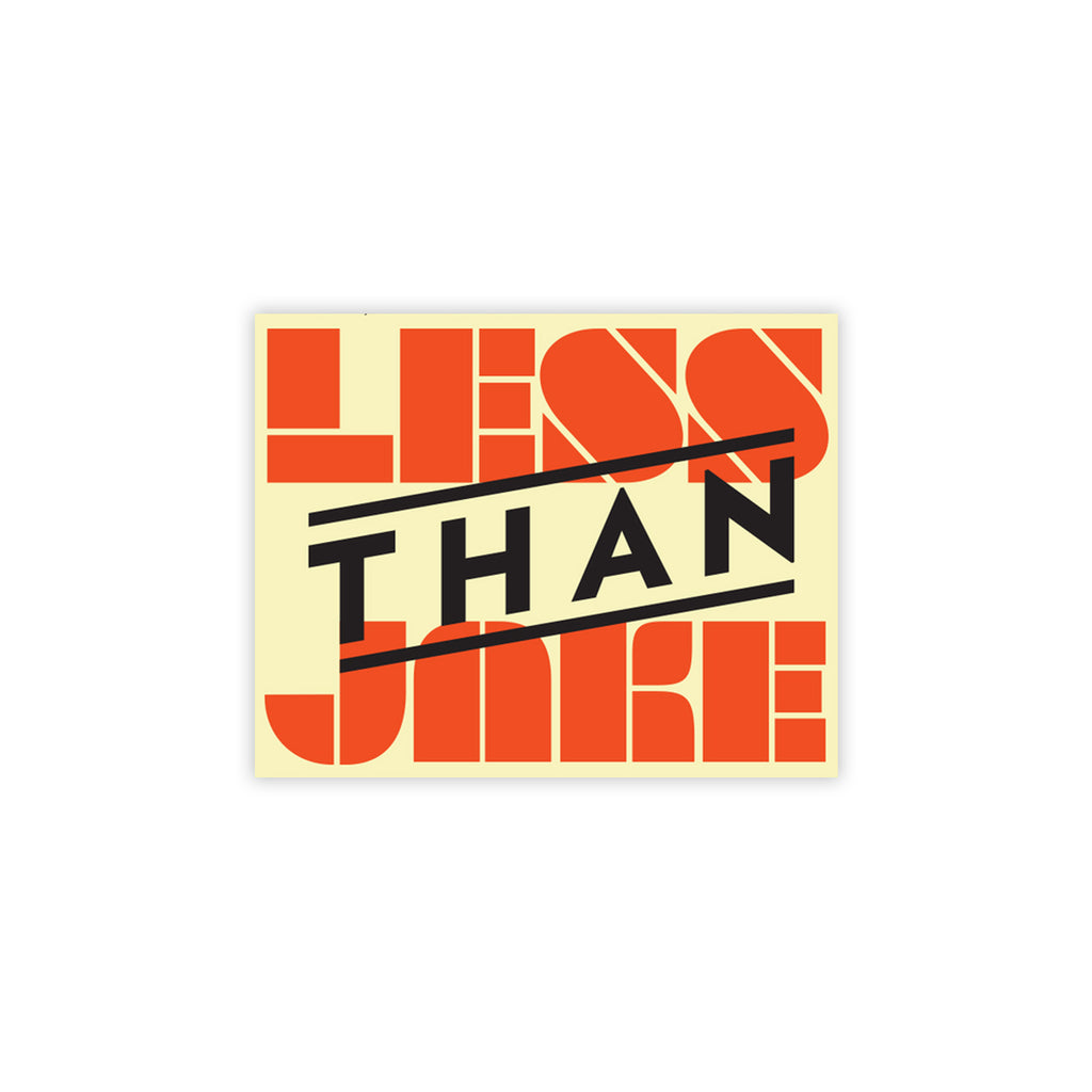 Less Than Jake - STA Logo Sticker