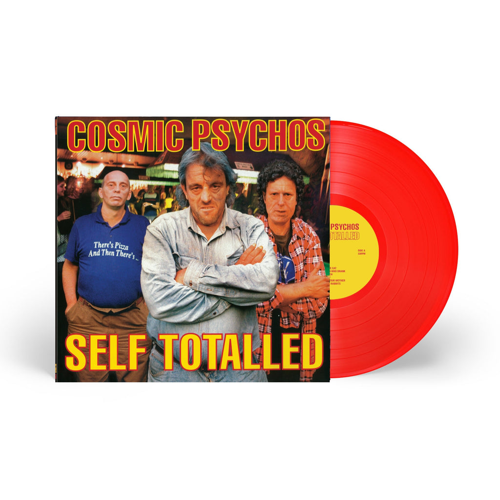 Cosmic Psychos - Self-Totalled LP (Red Vinyl)