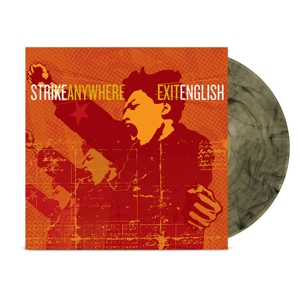 Strike Anywhere – Exit English LP (Clear w/ Black Smoke)