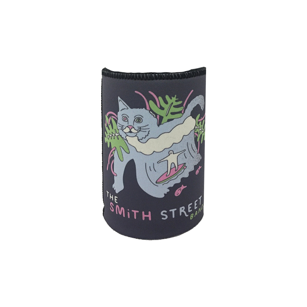 The Smith Street Band - Surfing Cat Stubby Holder