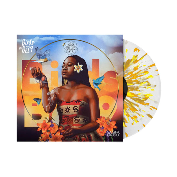 Sampa The Great - Birds & The Bee9 LP (Clear W/ Gold Splatter)