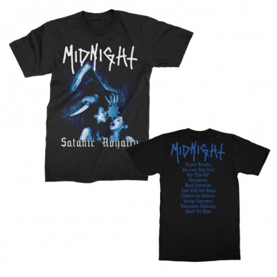 Midnight - Satanic Royalty T-Shirt (Black)