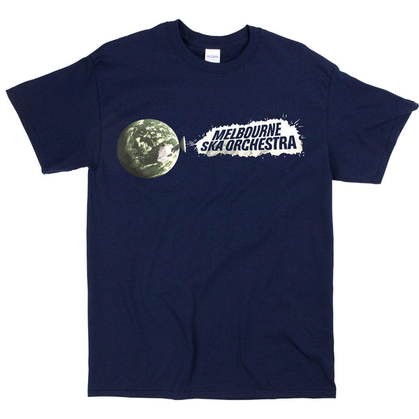 Melbourne Ska Orchestra - Satellite T-shirt (Navy)