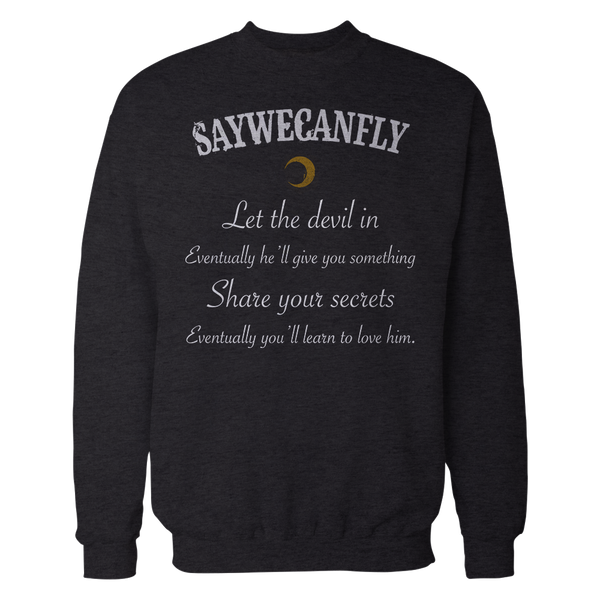SayWeCanFly - The Devil Crewneck