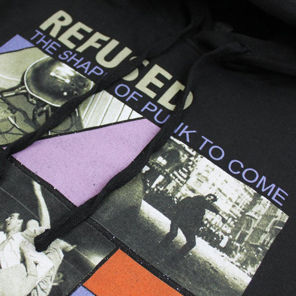 Refused - Shape Of Punk To Come Pullover Hoodie Detail 2