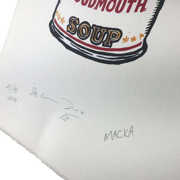 Cosmic Psychos - Loudmouth Soup Signed Print - Detail