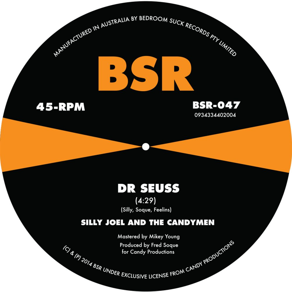 Silly Joel & The Candymen - Dr. Seuss 7""