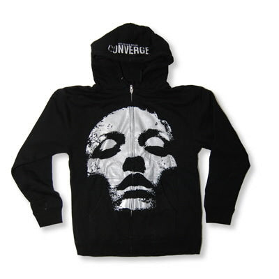 Converge - Silver Jane Doe Zip-Up Hoodie