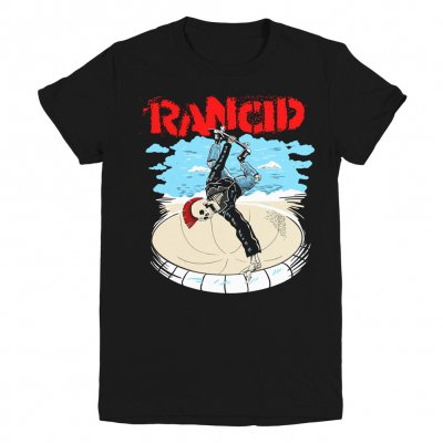 Rancid - Skate Skele-Tim Womens Tee (Black)