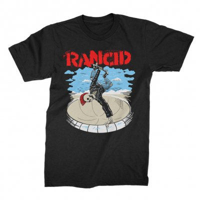 Rancid - Skate Skele-Tim Tee (Black)