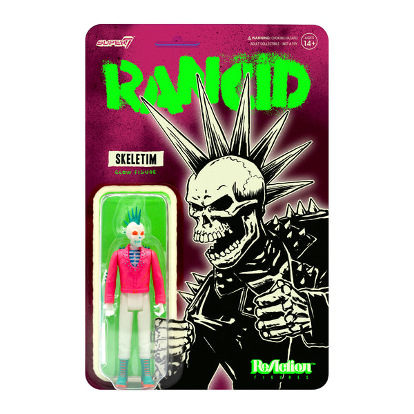 Rancid Skeletim Charged ReAction Figure (Glow)