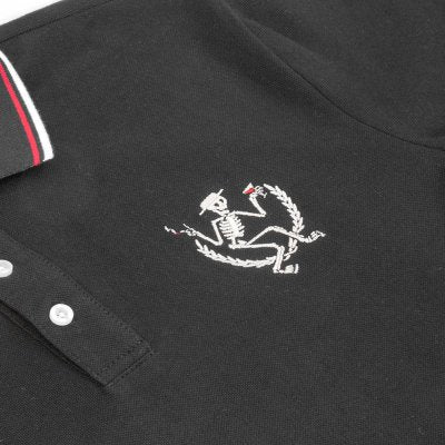 Social Distortion - Skelly Polo - Embroidery