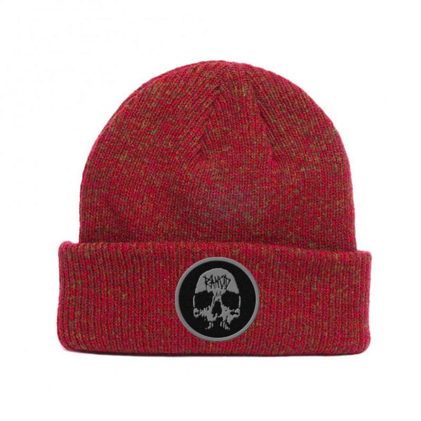 Rancid - Skull Embroidered Beanie (Red)