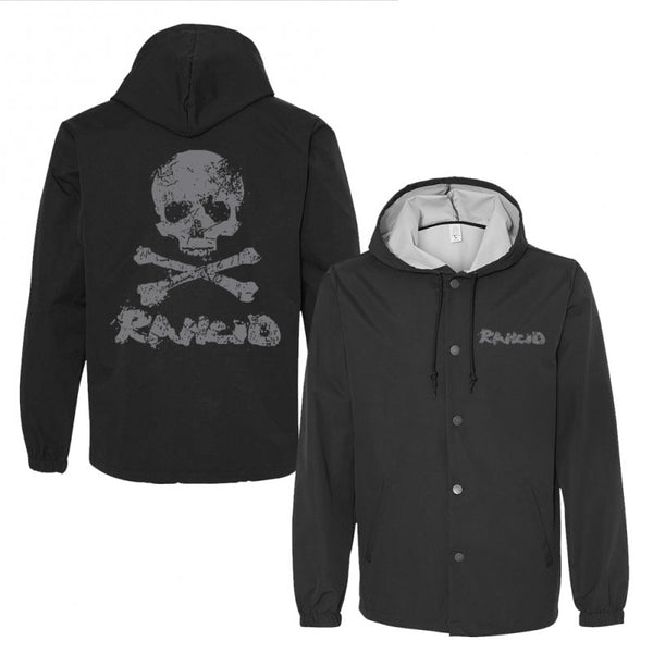 Rancid - Skull Windbreaker (Black)