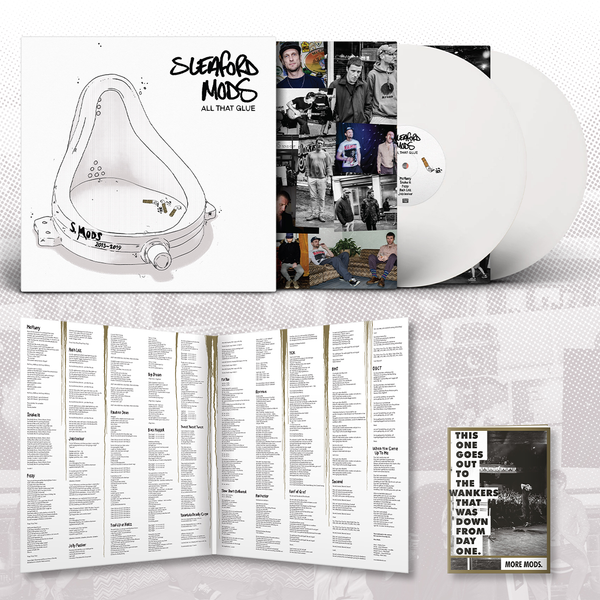 Sleaford Mods - All That Glue 2LP (White vinyl + Booklet)