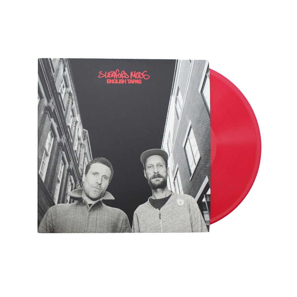 Sleaford Mods - English Tapas LP (Red)