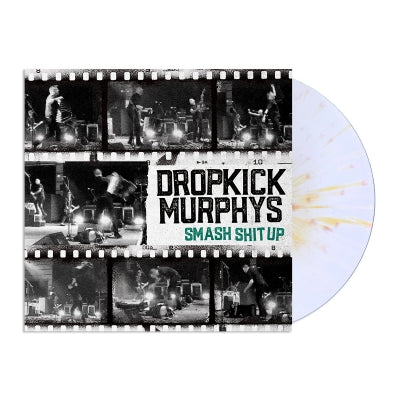 "Dropkick Murphys – Smash Shit Up 12"" EP (White/Gold)"