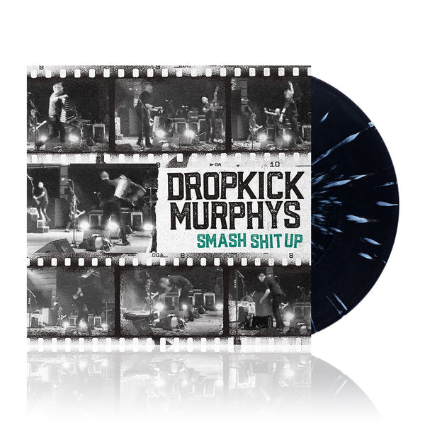 "Dropkick Murphys – Smash Shit Up 12"" EP (Black/Gold)"