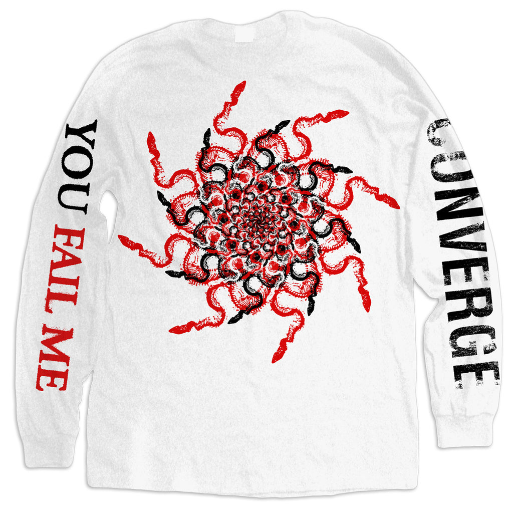 Converge You Fail Me Redux Snakes Longsleeve White